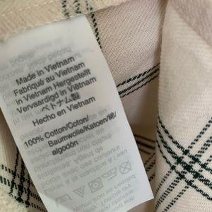 Madewell Tops - Madewell Flannel Oversized Ex-boyfriend Shirt